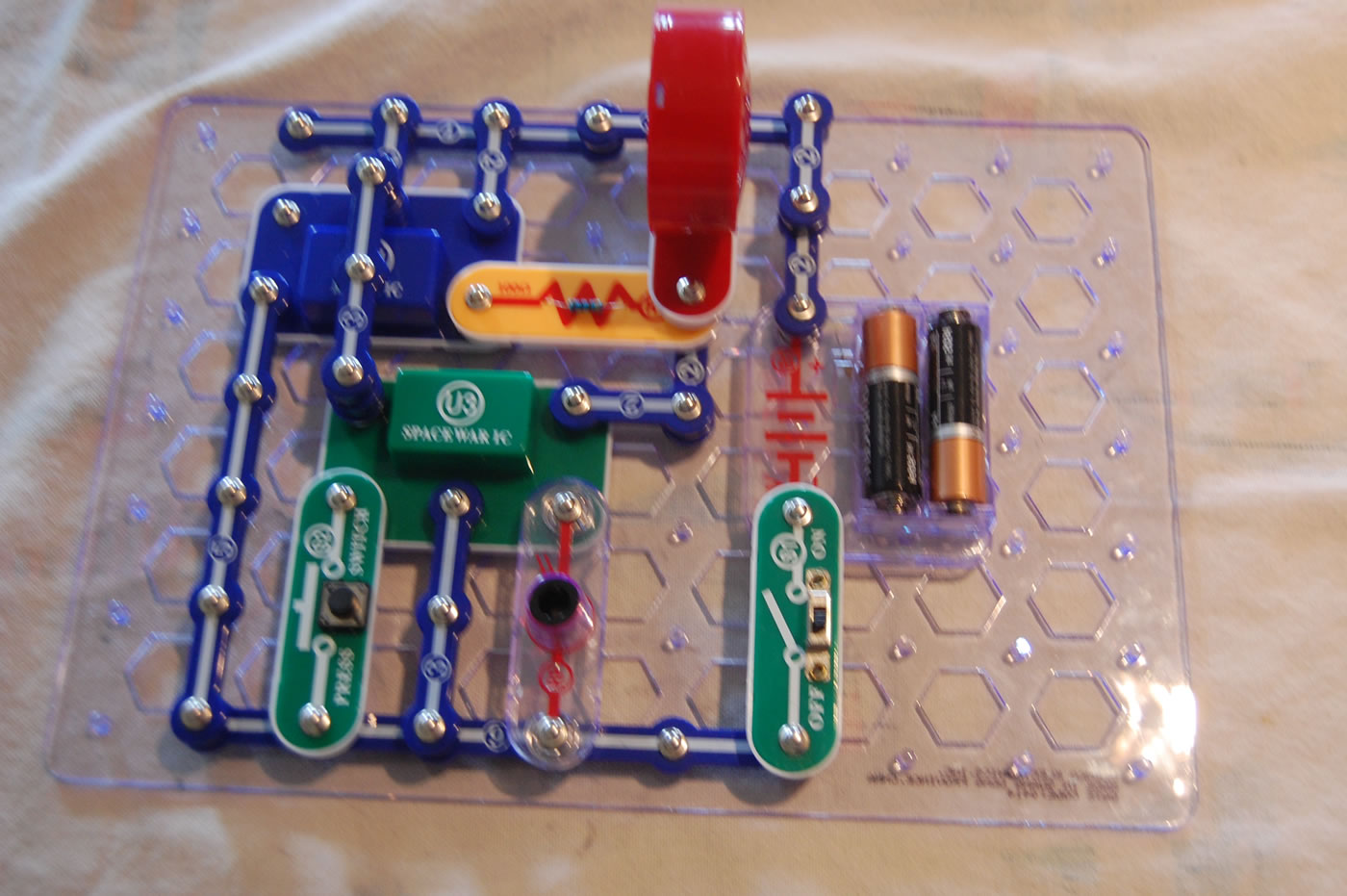 Cool Electronic Snap Circuit Kit Petkid One Kid S